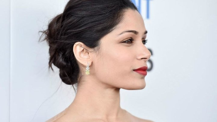"Freida Pinto cast as lead in ""Guerilla"" - new series exploring the history of Black Power in Britain. Click on photo above for link to article."